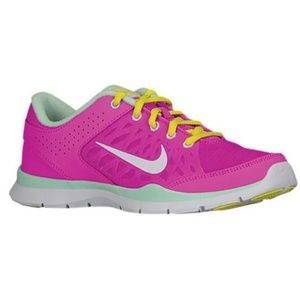 NIKE Pink/Mint Flex Trainer 3 Running Shoe | Sz 7